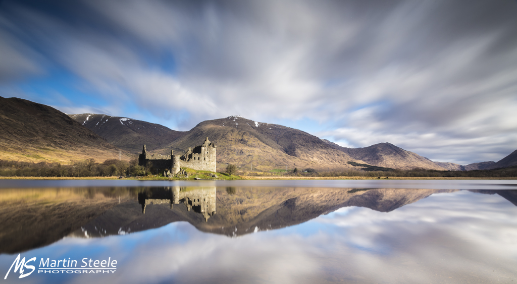 Kilchurn Castle Long Exposure