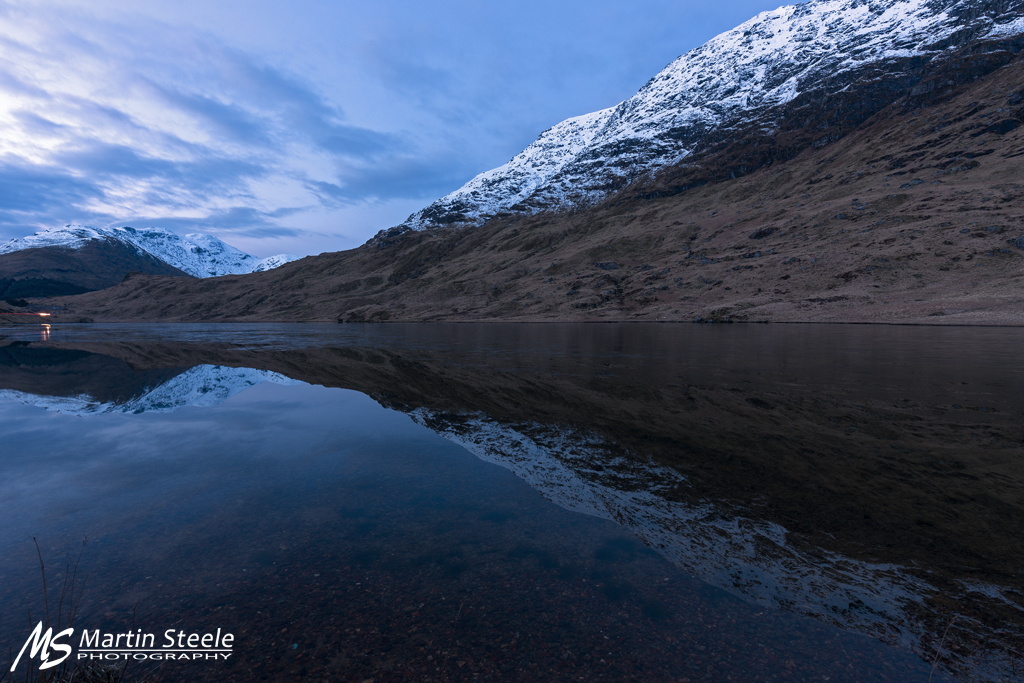 Loch Restil blue hour WEB