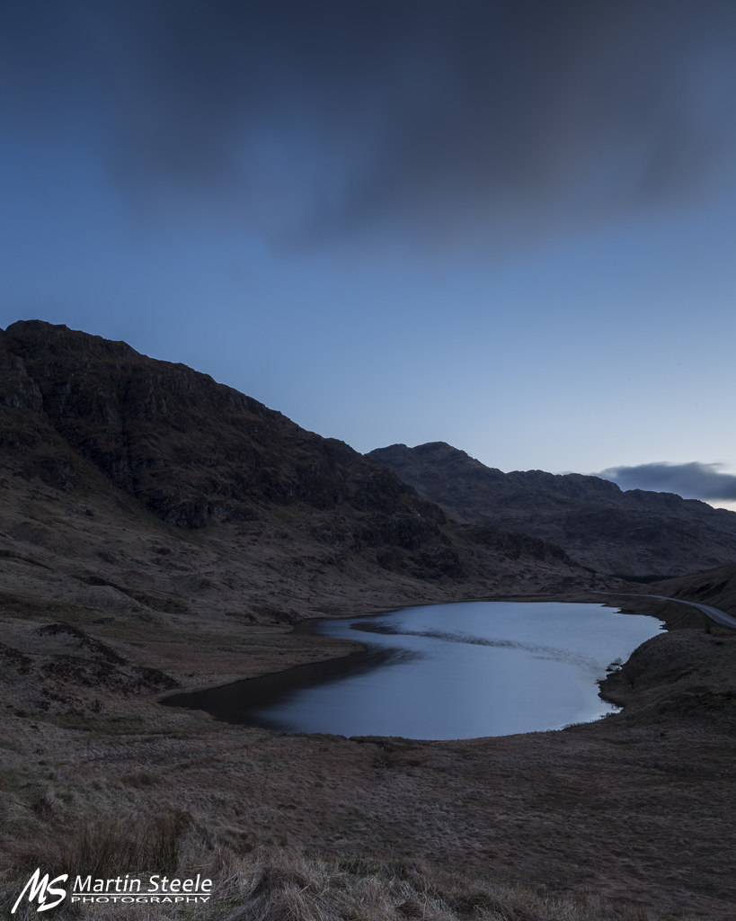 Loch Restil blue hour