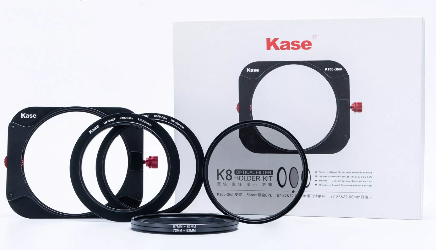 Kase Wolverine 67mm to 77mm Magnetic Step Up Filter Ring Adapter 67 77