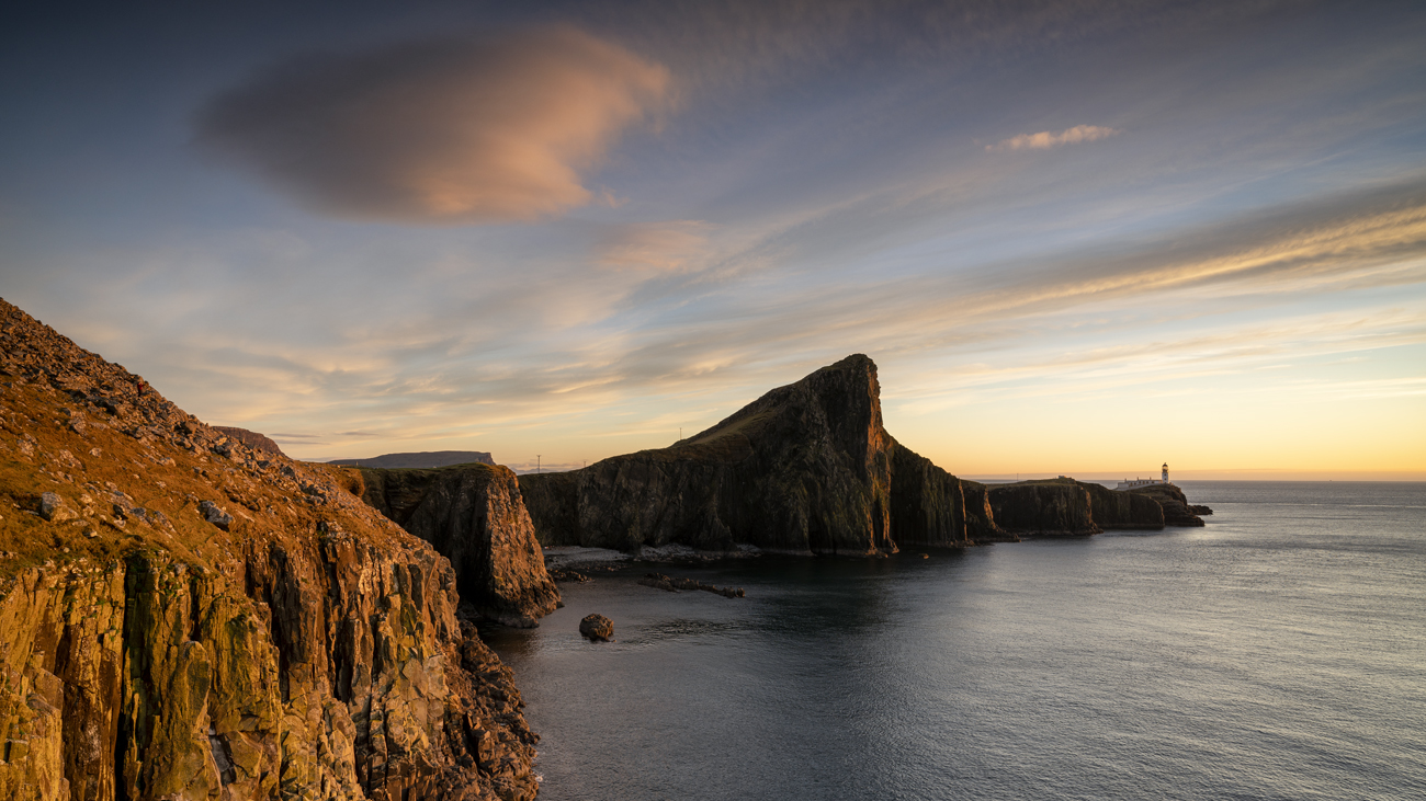 Lovely late evening light at Neist Point