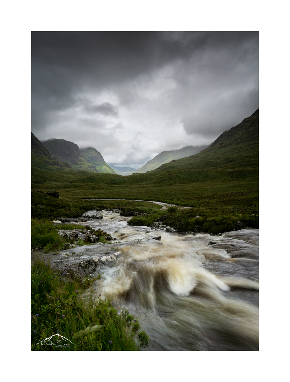 Wet and wild in Glencoe