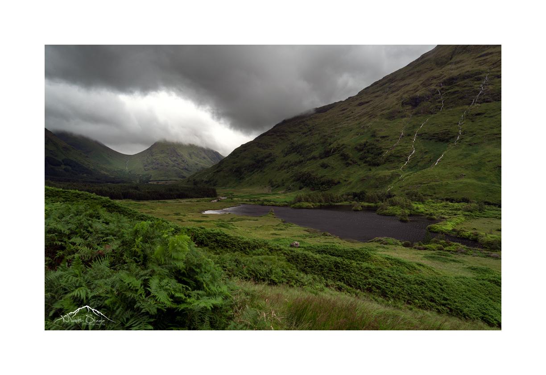 Above Lochan urr looking back to Glencoe